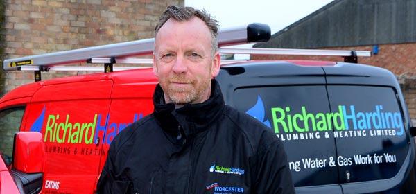 Richard Harding central-heating boiler servicing in Worthing