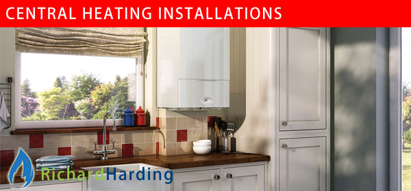 Richard Harding central heating installations in the Worthing area