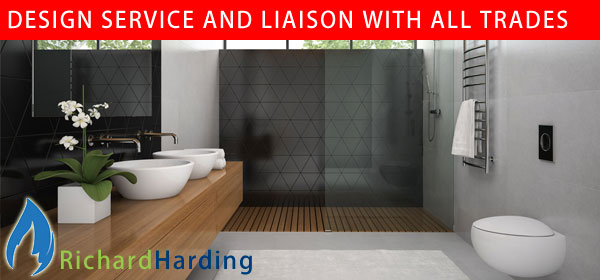 Richard Harding, full bathroom design service and liaison with all trades