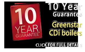 Richard Harding 10 year guarantee on Worcester CDi boilers in the Worthing area